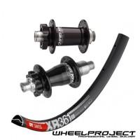 DT Swiss MTB 29 wheelset with Chris King hubs
