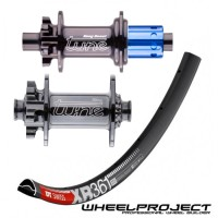"""DT Swiss MTB 29"""" wheelset with Tune hubs"""